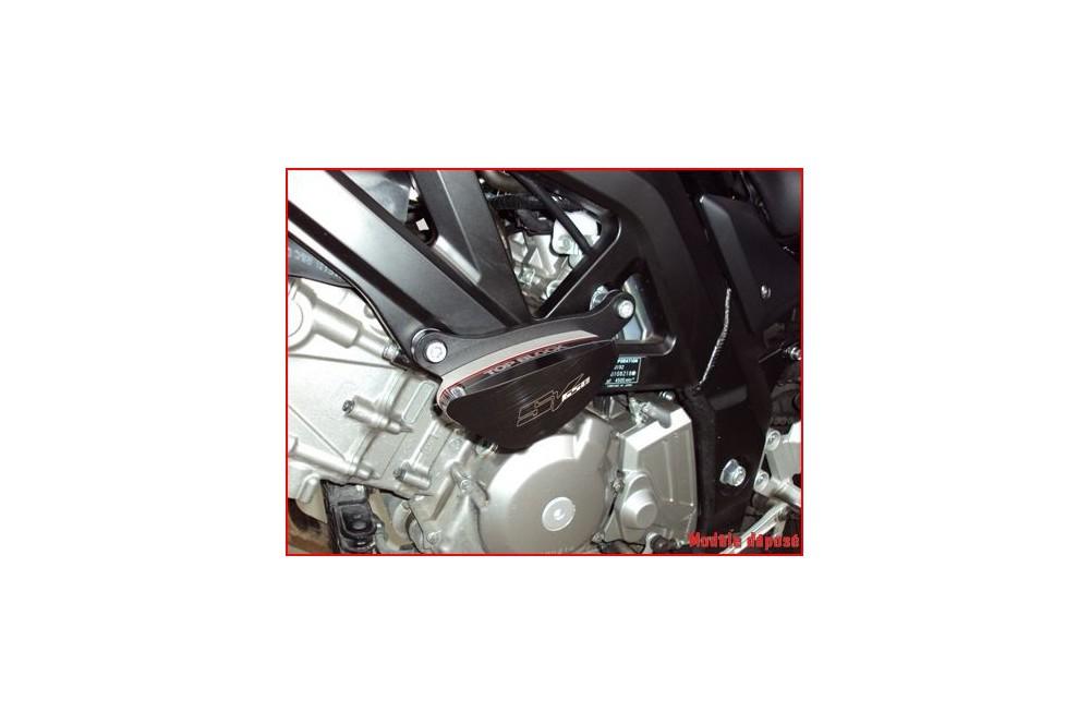 kit patins top block pour suzuki sv650 03 10 street moto piece. Black Bedroom Furniture Sets. Home Design Ideas