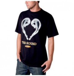 T-Shirt FMF LOVE SOUND Noir