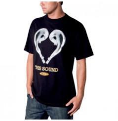 T-Shirt FMF LOVE SOUND Noir
