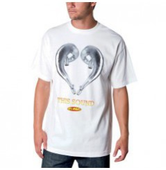 T-Shirt FMF LOVE SOUND Blanc
