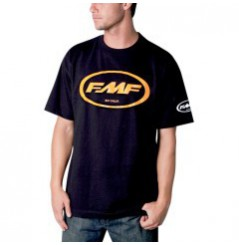 T-Shirt FMF CLASSIC DON Noir - Orange