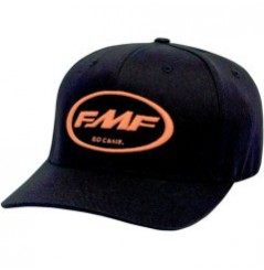 Casquette FMF FACTORY DON Noir - Orange
