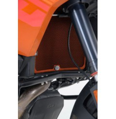 Protection de Radiateur Orange R&G pour Adventure 1050 et 1190 (13-16) 1290 Super Adventure (15-16)