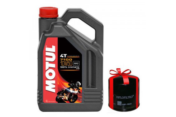 huile moto motul 7100 10w50 4 litres filtre huile. Black Bedroom Furniture Sets. Home Design Ideas