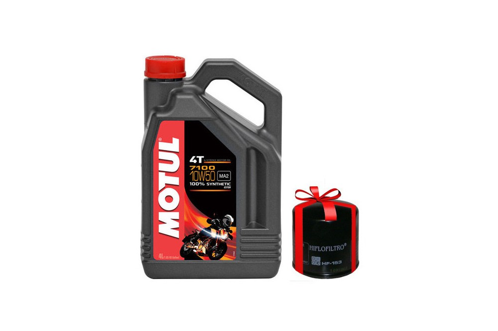 huile moto motul 7100 10w50 4 litres filtre huile offert street moto piece. Black Bedroom Furniture Sets. Home Design Ideas