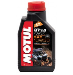 Huile Motul ATV SXS Power 10w50, 100% Synthése