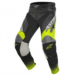Pantalon Cross Alpinestars RACER SUPERMATIC Noir - Gris - Jaune
