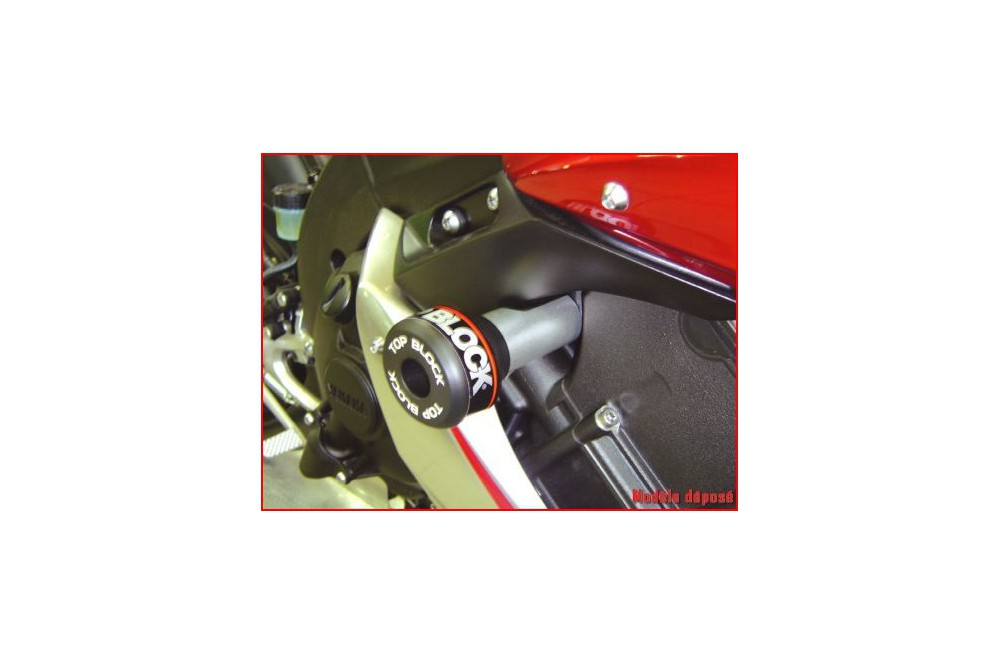 kit roulettes top block pour yamaha yzf r1 04 06 street moto piece. Black Bedroom Furniture Sets. Home Design Ideas
