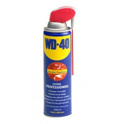 WD-40 500ML Spray Système Pro double position