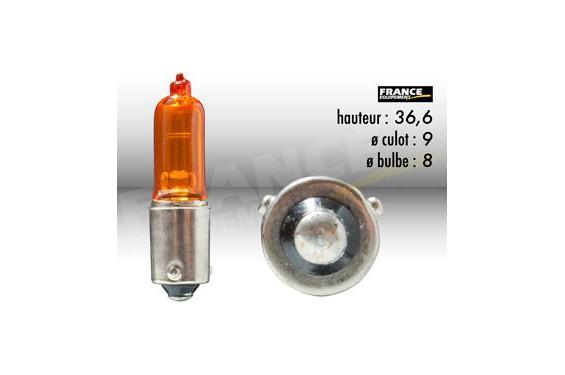 Ampoule Temoin / Clignotant 12V-21W FLOSSER pour Moto-Quad-Scooter