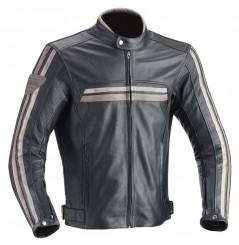 Blouson Cuir Moto Ixon HEROES Noir