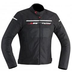 Blouson Moto Ixon HELIOS Noir - Blanc - Rouge