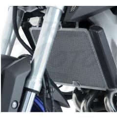 Protection de Radiateur R&G Titane pour MT-09 (14-20)