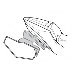 """Support sacoches latérales Shad """"Side Bag Holder"""" pour Z650 (16-20) Ninja 650 (17-20)"""