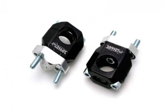 Pontet Réglable Noir pour Tés de Fourche Moulés 22.2 mm