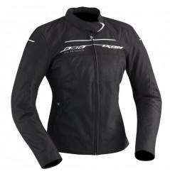 Blouson Moto Femme Ixon HELIA Noir - Blanc