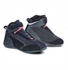 Chaussure Racing Moto Ixon SPEEDER LADY Noir - Rose