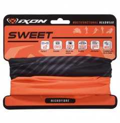 Tour De Cou Moto Ixon SWEET Xlogo Noir - Uni Orange