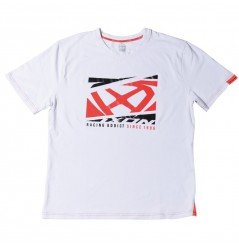 T-Shirt Homme Ixon CROWD Blanc - Rouge