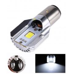 Ampoule à LED BA20D Code / Phare pour Moto Quad Scooter ou SSV
