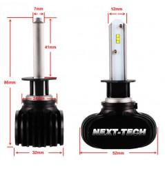 Ampoules LED Moto H1 55W Sans Ventilateur NEXT TECH