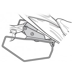 """Support sacoches latérales Shad """"Side Bag Holder"""" pour GSX-S 750 (17-20)"""