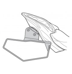 """Support sacoches latérales Shad """"Side Bag Holder"""" pour Z900 (17-20)"""