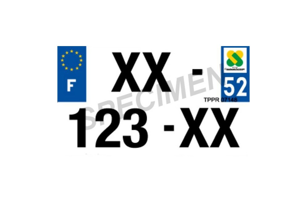 plaque d 39 immatriculation 210x130 homologu pour moto en plexi street moto piece. Black Bedroom Furniture Sets. Home Design Ideas