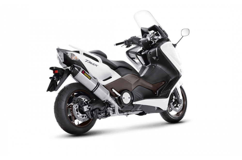 silencieux akrapovic homologu t max 500 et 530 08 16 street moto piece. Black Bedroom Furniture Sets. Home Design Ideas
