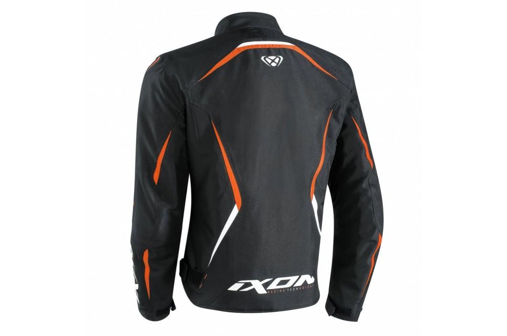 blouson moto ce ixon sprinter noir orange street moto piece. Black Bedroom Furniture Sets. Home Design Ideas
