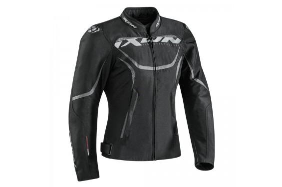 blouson moto ce femme ixon sprinter lady noir street moto piece. Black Bedroom Furniture Sets. Home Design Ideas