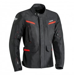 Veste Moto CE Ixon SUMMIT 2 Noir - Rouge