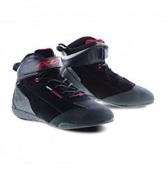 Chaussure Moto CE Ixon SPEEDER WP Noir - Rouge