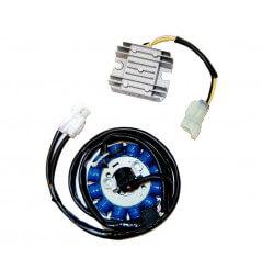 Stator d'allumage et Régulateur Quad Electrosport pour Yamaha YFZ 450 (04-08)