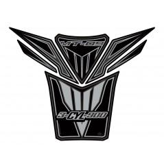 Protection de Réservoir Moto Noir - Gris pour YAMAHA MT-09 (13-19) MT-09 TRACER (15-17)