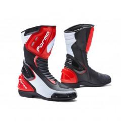 Bottes Moto Racing Forma FRECCIA Noir - Blanc - Rouge