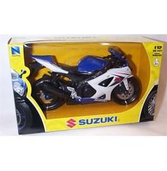 Maquette Moto 1/12 ème SUZUKI GSX-R 1000 Bleu / Blanc