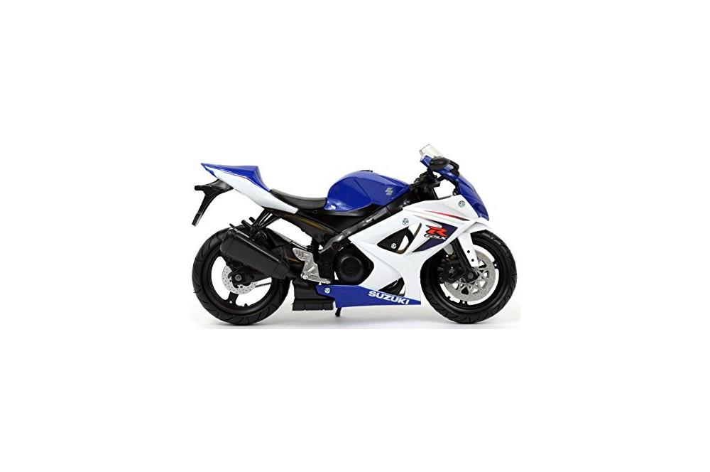 maquette moto 1 12 me suzuki gsx r 1000 bleu blanc 07 08 street moto piece. Black Bedroom Furniture Sets. Home Design Ideas