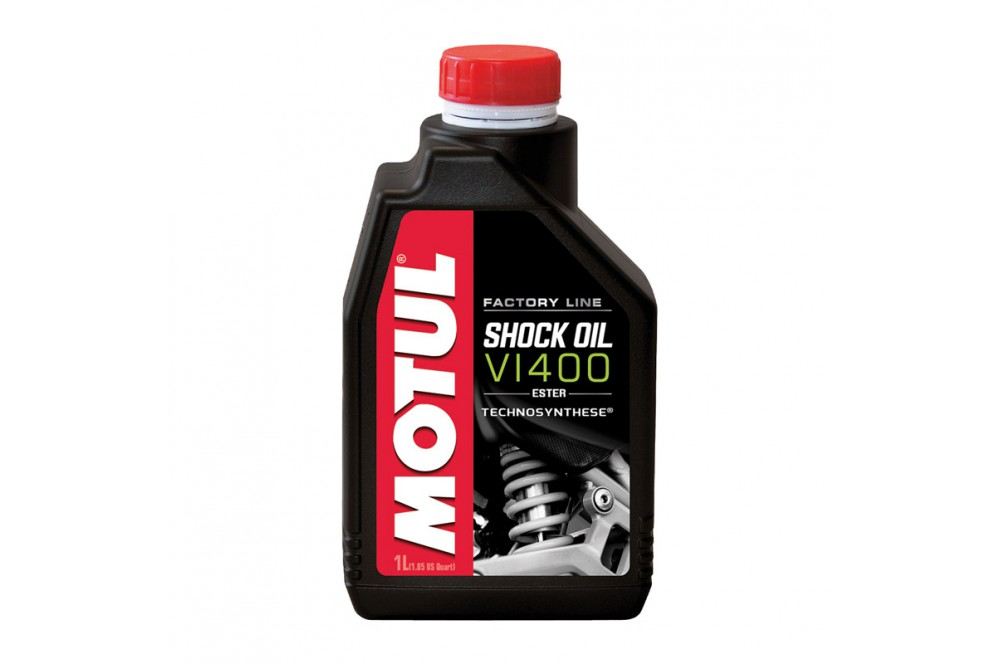 huile amortisseur moto motul shock oil vi400 factory line 1 litre street moto piece. Black Bedroom Furniture Sets. Home Design Ideas