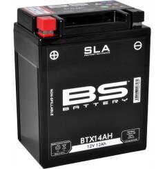Batterie Moto BS BTX14AH SLA