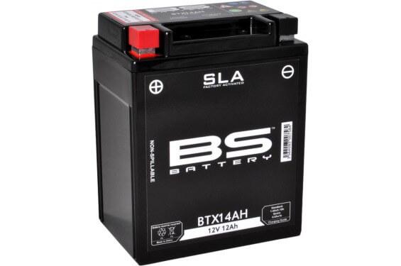 Batterie Moto BTX14AH BS SLA