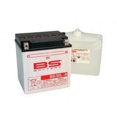 Batterie Moto BS BB30L-B (YB30L-B / CB30L-B)