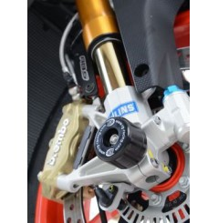Roulettes de protection de fourche R&G pour RSV4 (15-17) Tuono V4 (15-16)