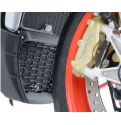 Protection de radiateur d'huile R&G pour RSV4 (15-17) Tuono V4 (15-16)