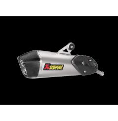Silencieux Titane Akrapovic Homologué pour C650 GT (16-18)