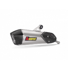 Silencieux Titane Akrapovic Homologué pour C650 GT (16-20)