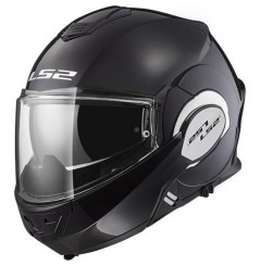 Casque Moto Modulable LS2 FF399 VALIANT Noir Brillant