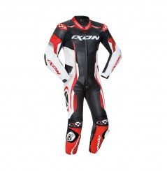 Combinaison Racing IXON VORTEX 2 Noir - Blanc - Rouge
