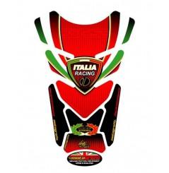 Protection de Réservoir Universel Moto Rouge - Noir pour DUCATI