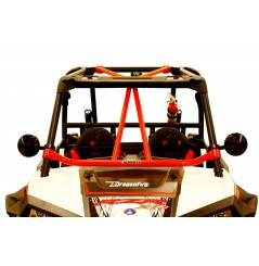 Renfort de Toit Rouge DRAGONFIRE pour SSV Polaris RZR 900 (15-17) RZR 900 S (15-17) RZR - 4 900 (15-17)